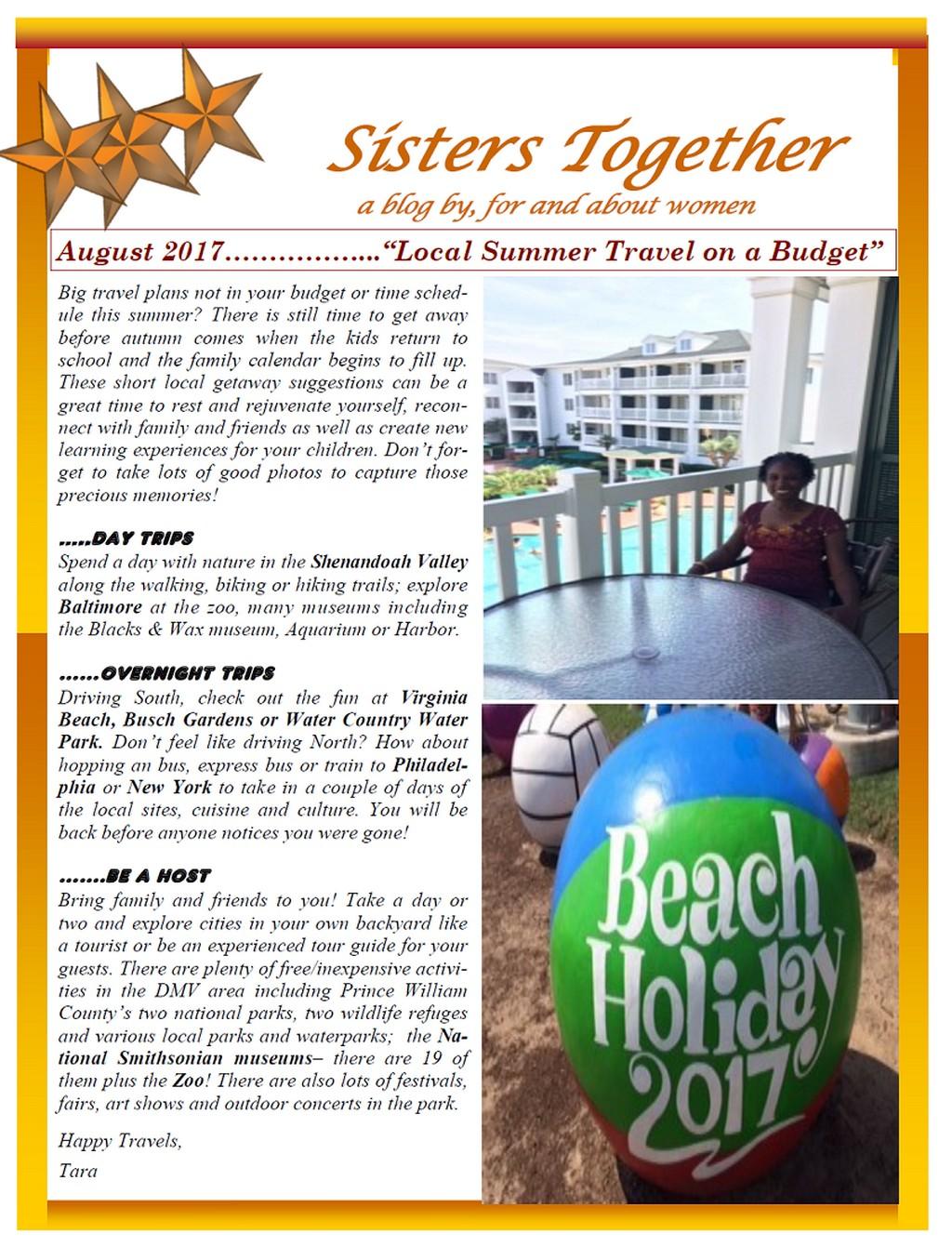 Sisters Together BLOG Aug 17